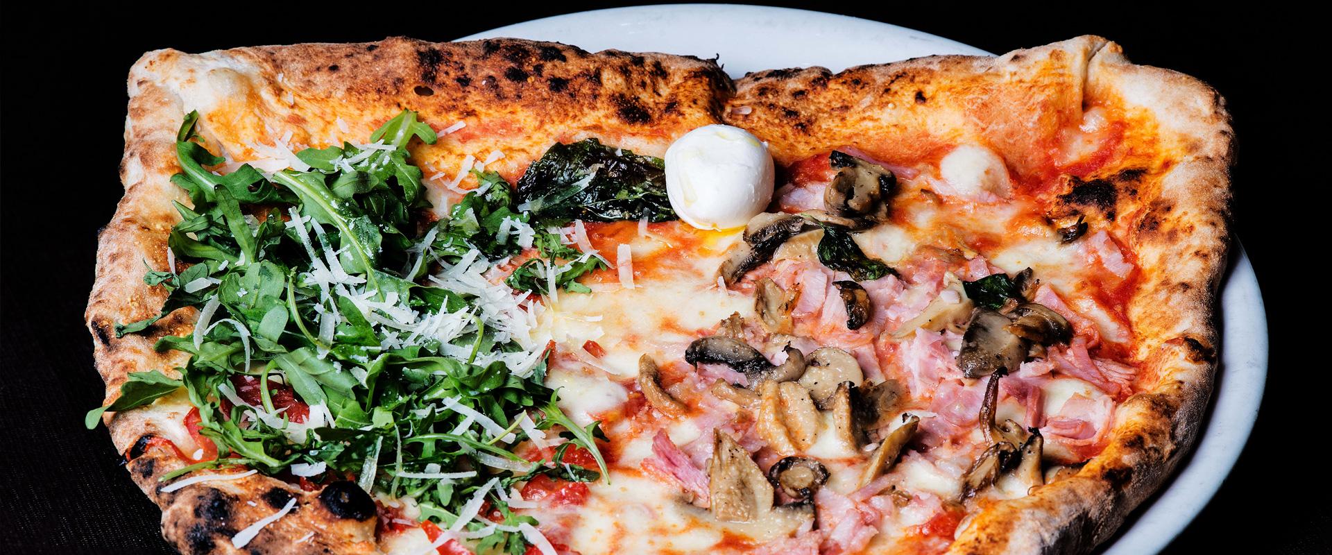 Pizza Carolina della pizzeria di Napoli Gigino&Figli