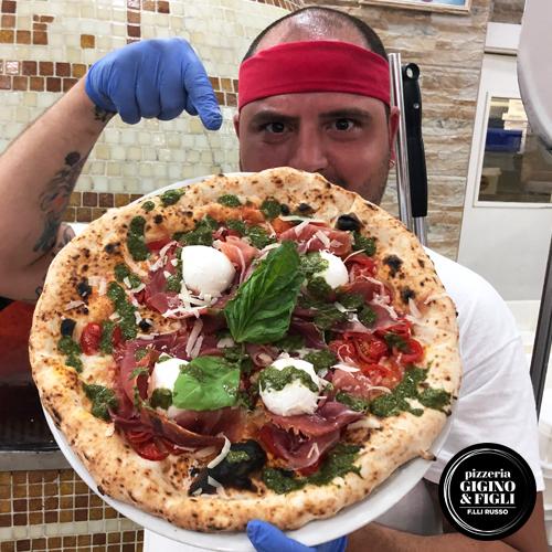 Pizzeria Soccavo Gigino e Figli, foto della pizza del mese di Luglio 2019 Summer Special