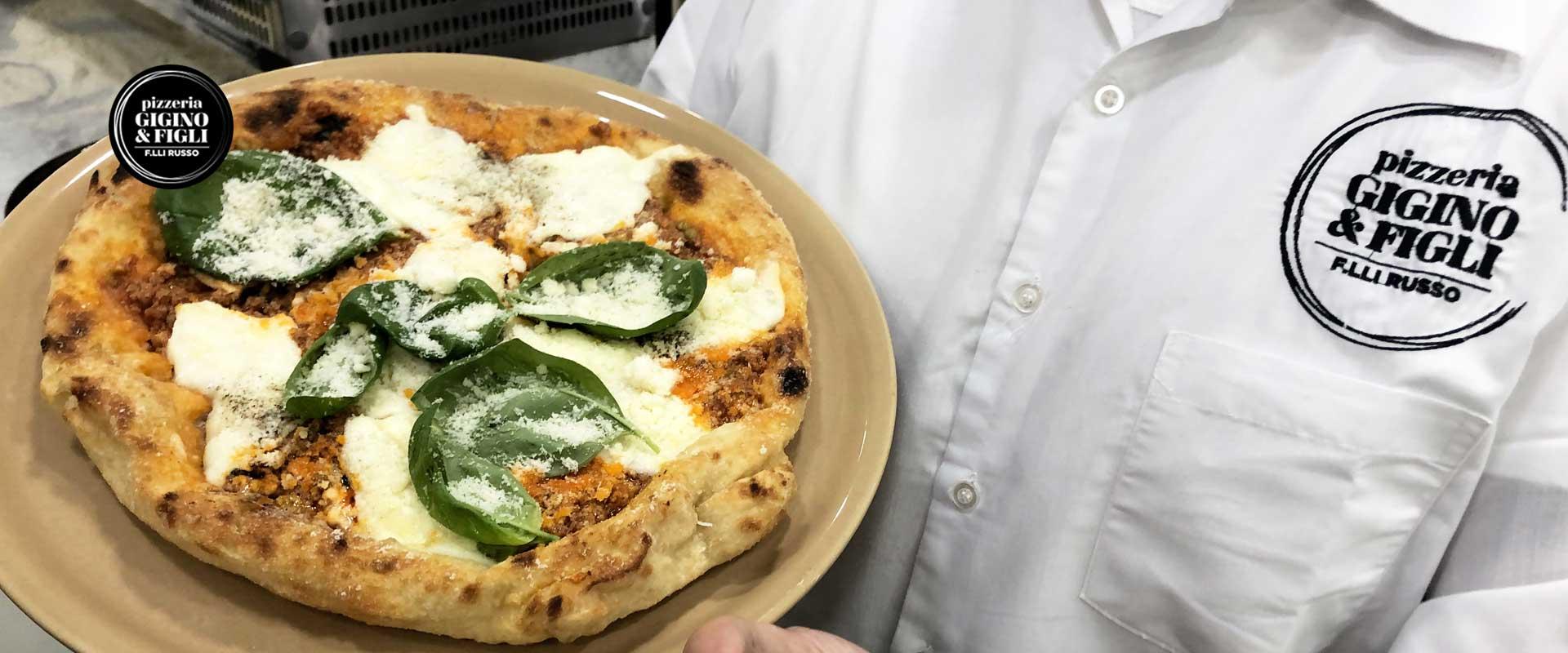 Pizza montanara alla bolognese