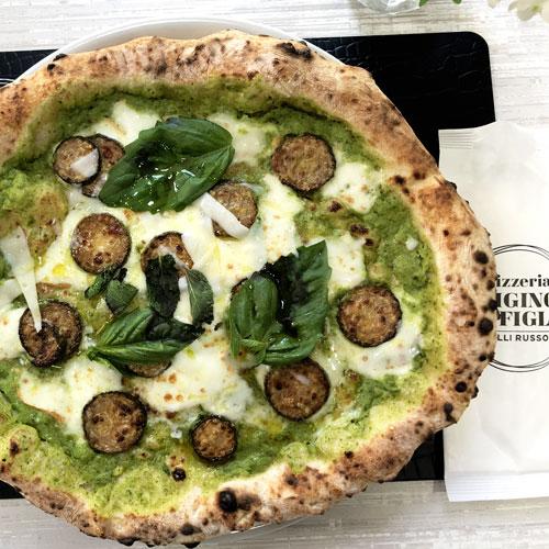 Ricetta della pizza alla Nerano della pizzeria napoletana Gigino&Figli di Soccavo