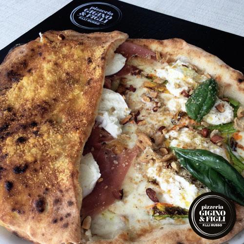 Pizza del mese di Maggio Pizzeria Gigino&Figli